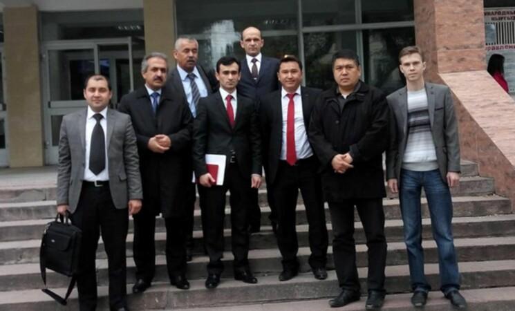 Встреча c коллегами из Таджикистана