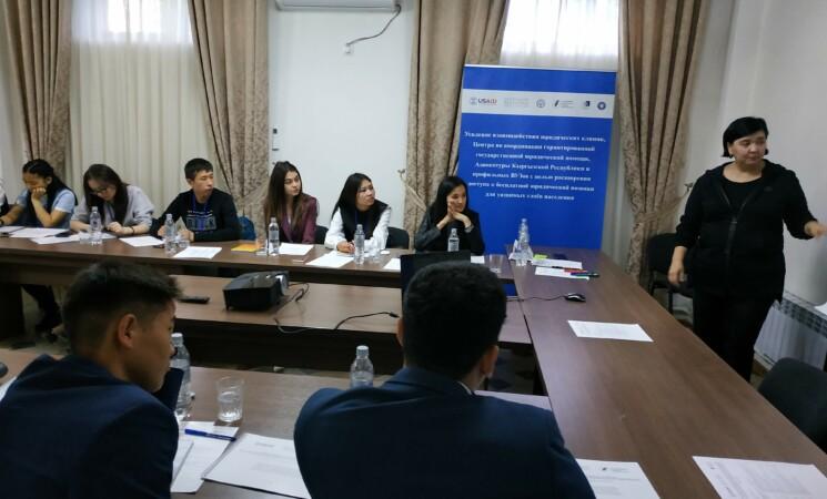 Тренинг для студентов северных регионов, г.Бишкек, 12-13 апреля 2019 г.